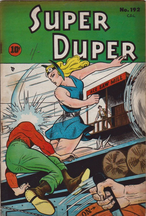 Super Duper Comics No. 192 repack using the cover from American Namora Comics No. 3