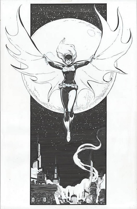 Batgirl by Paul Smith.  Source.