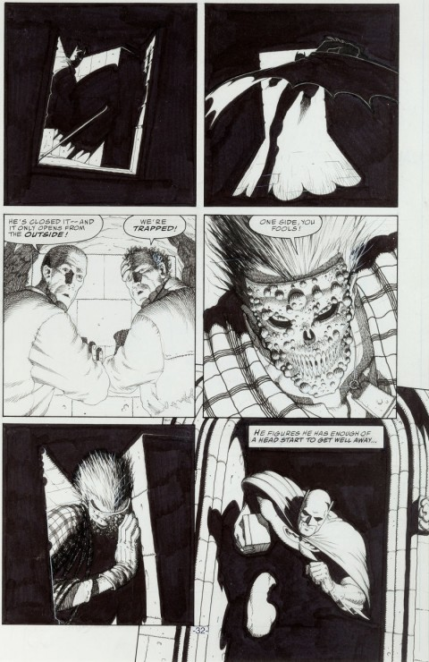 Batman: Scottish Connection Page 32 by Frank Quitely.  Source.