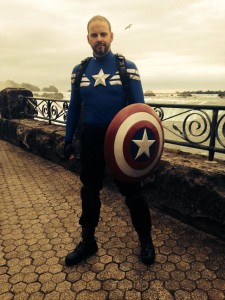 Captain America Niagara Falls