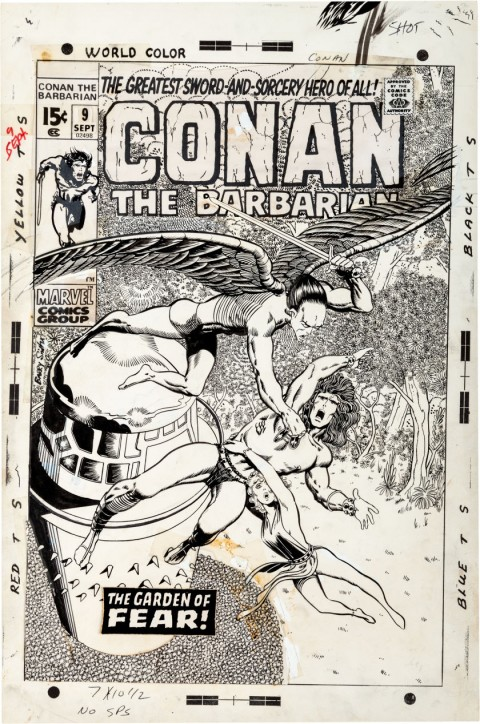 Conan the Barbarian issue 9 by Barry Smith.  Source.