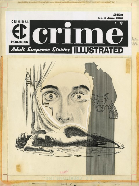 Crime Illustrated issue 3 cover by Reed Crandall.  Source.