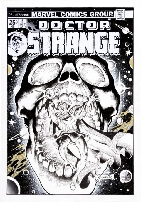 Doctor Strange issue 4 Cover Recreation by Frank Brunner.  Source.