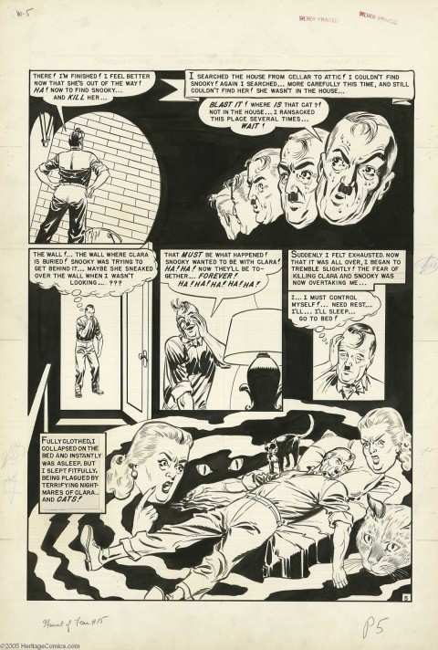 Haunt of Fear issue 15 page 5 by Johnny Craig.  Source.