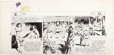 Jungle Jim Sunday 10-15-39 by Alex Raymond.  Source.
