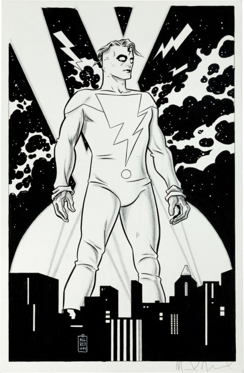 Madman by Mike Allred.  Source.