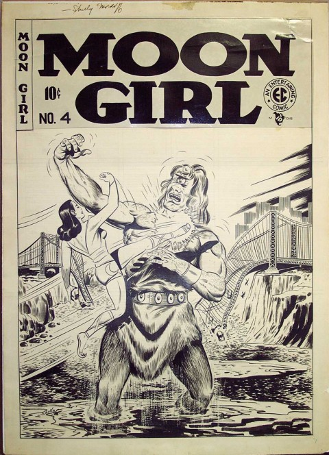 Moon Girl issue 4 cover by Sheldon Moldoff.  Source.