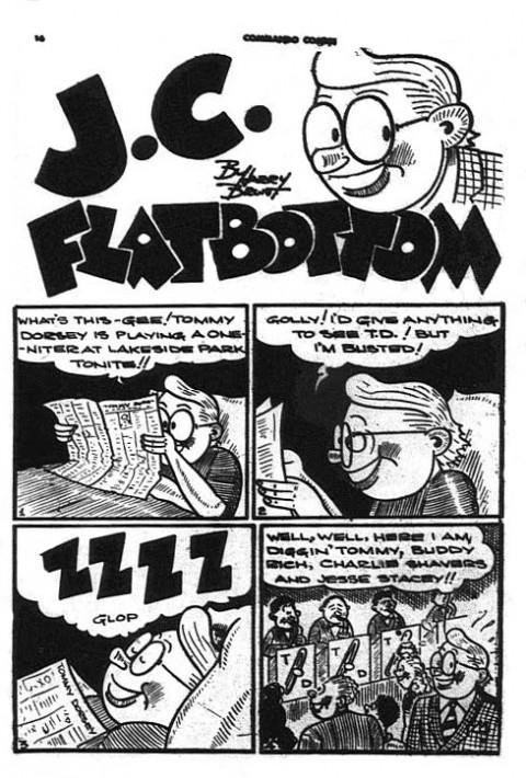 First J. C. Flatbottom story from Commando Comics No. 18