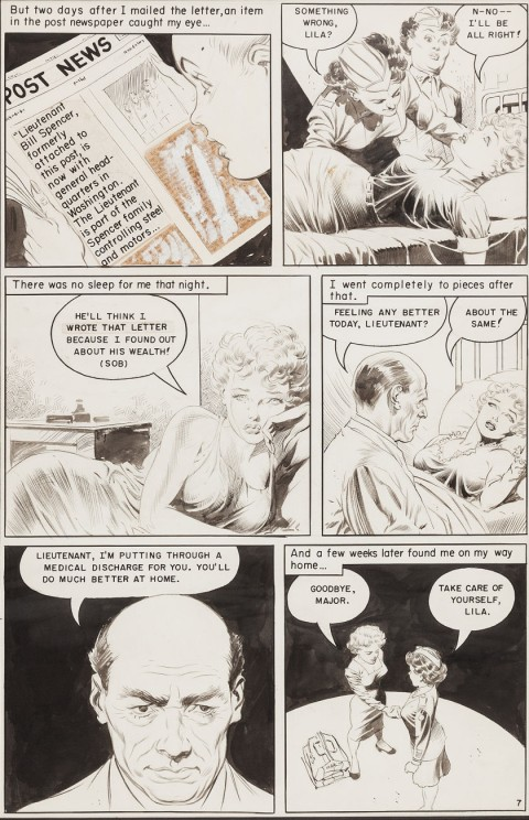 Personal Love issue 24 Page 7 by Frank Frazetta.  Source.