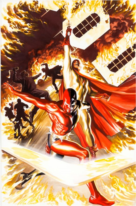 Project Superpowers issue 2 by Alex Ross.  Source.