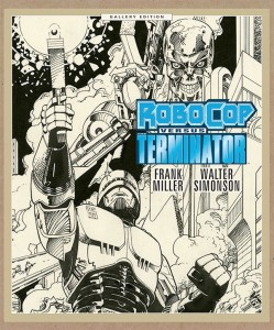 Robocop Versus The Terminator Gallery Edition cover