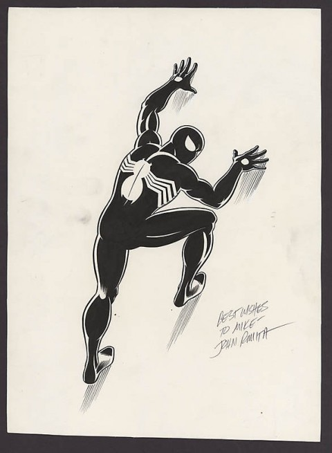 Spider-Man by John Romita.  Source.