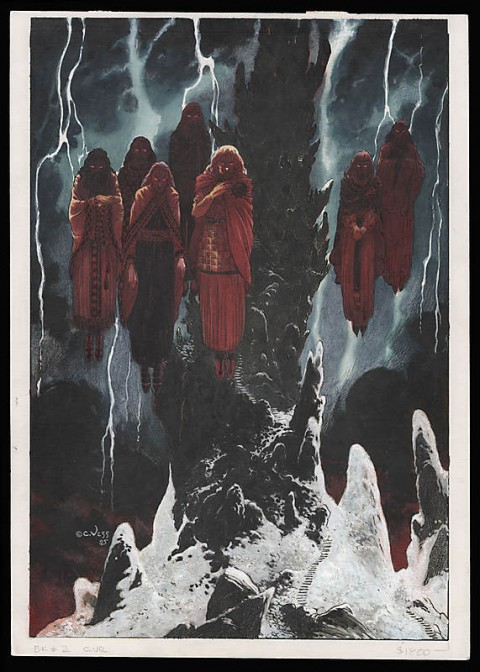 Stardust issue 2 cover by Charles Vess.  Source.