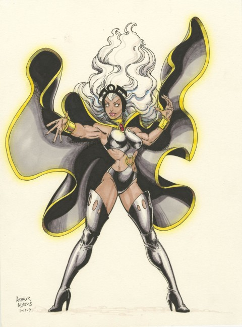 Storm by Art Adams.  Source.