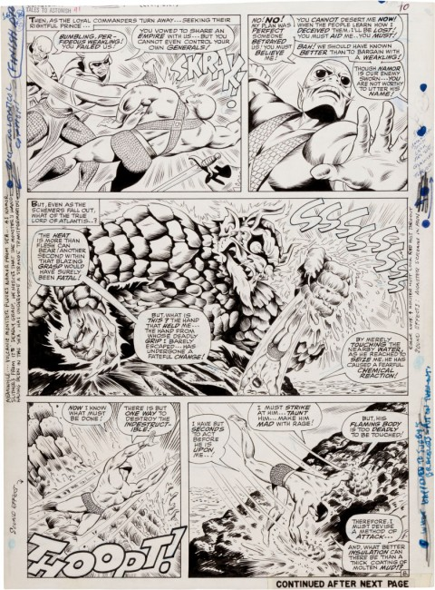 Tales to Astonish issue 91 Page 8 by Bill Everett and Dan Adkins.  Source.