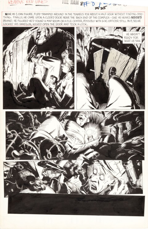 The 'Nam issue 8 Page 5 by Michael Golden.  Source.
