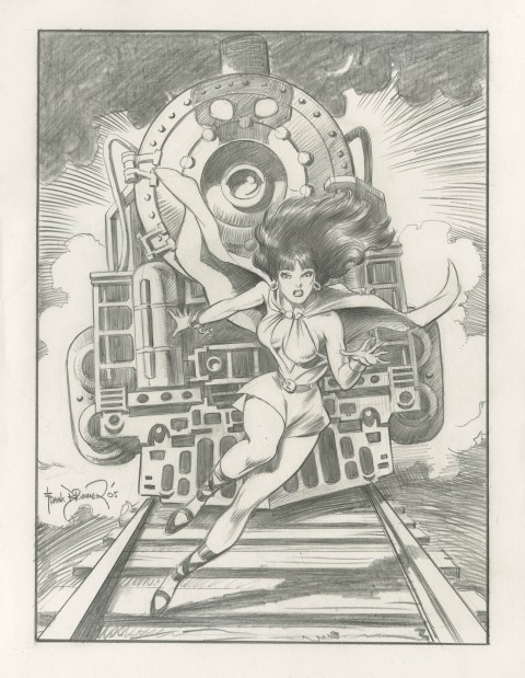 The Phantom Lady by Frank Brunner.  Source.