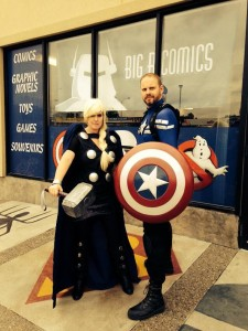 Thor Captain America Niagara Falls