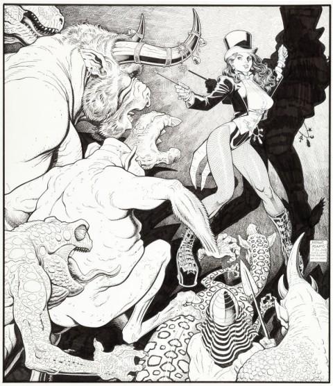 Zatanna by Arthur Adams.  Source.
