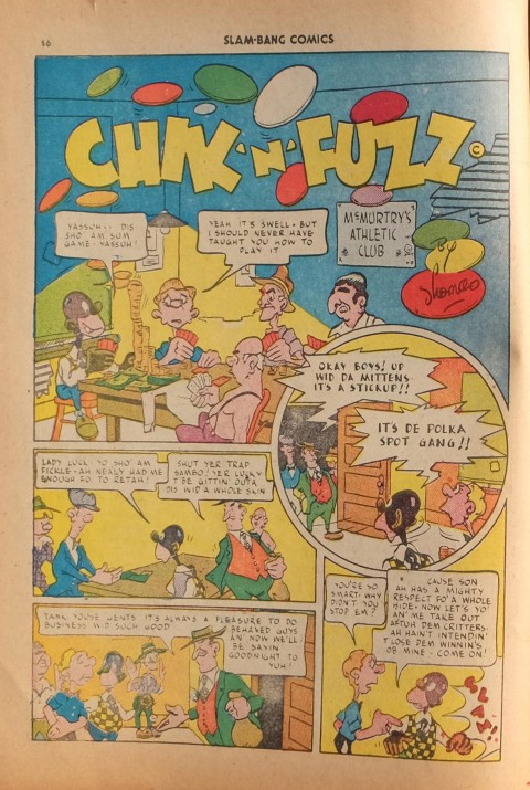 Chik 'n' Fuzz by Bill Thomas
