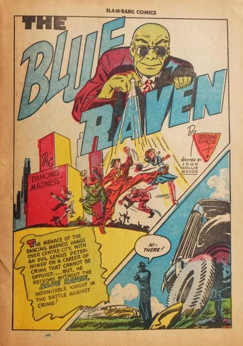 Dingle's Slam-Bang Blue Raven story