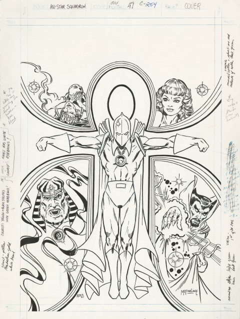 All-Star Squadron issue 47 cover by Todd McFarlane.  Source.
