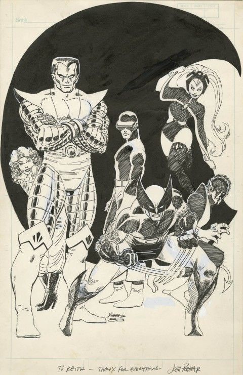 Comics Scene issue 11 cover by John Romita Jr.  Source.