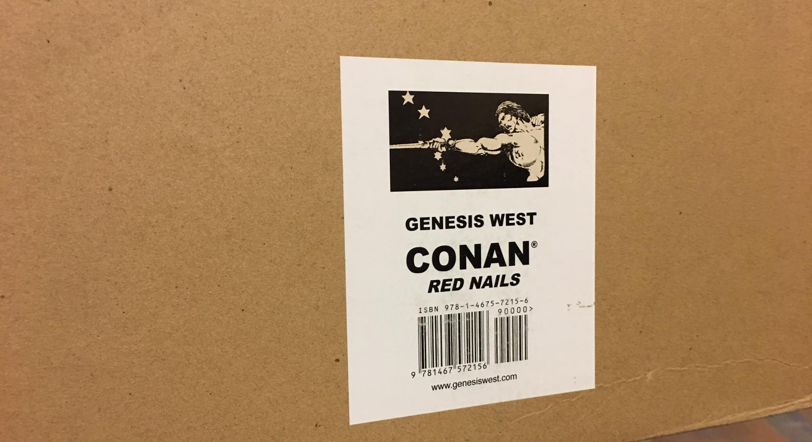 Review | Conan: Red Nails Original Art Archives Vol 1