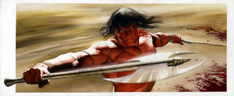 Conan: The Ultimate Guide cover by Alex Ross.  Source.