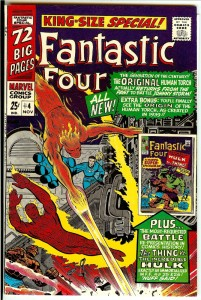 Fantastic Four Annual 4