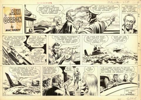 Flash Gordon 3-5-1961 by Mac Raboy.  Source.