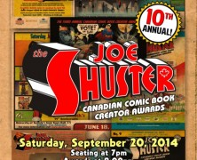 2014 Joe Shuster Awards