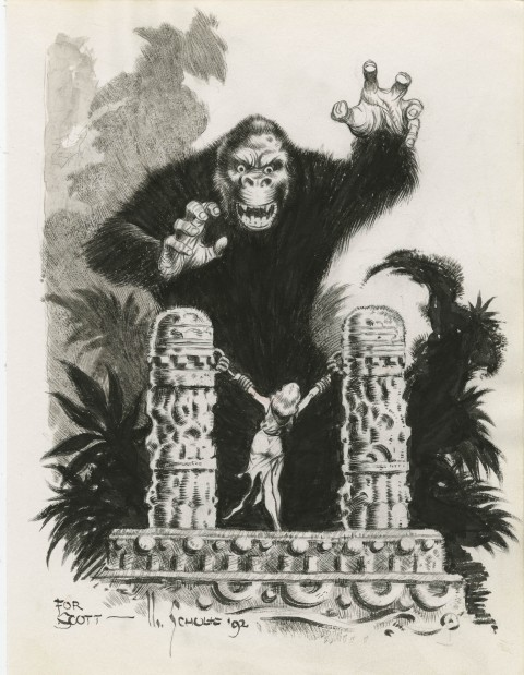 King Kong by Mark Schultz.  Source.