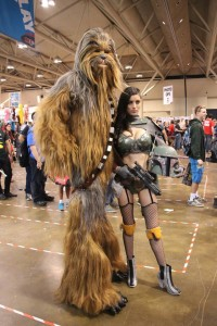 LeeAnna Vamp and Chewbacca Fan Expo 2014