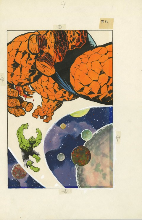 Marvel Graphic Novel issue 29 Big Chance splash by Bernie Wrightson.  Source.
