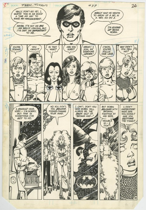 New Teen Titans issue 39 page 19 by George Perez.  Source.