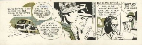 Secret Agent Corrigan 5-15-1970 by Al Williamson.  Source.
