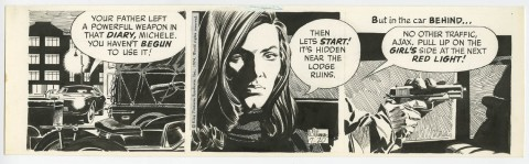 Secret Agent Corrigan 7-20-1974 by Al Williamson.  Source.