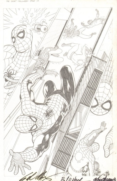 Spider-Man The Short Halloween issue 1 page 10 by Kevin Maguire.  Source.