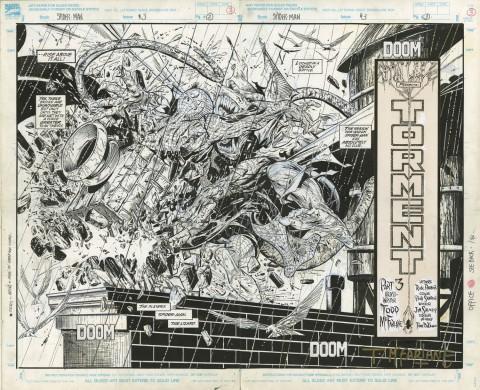 Spider-Man issue 3 splash by Todd McFarlane.  Source.