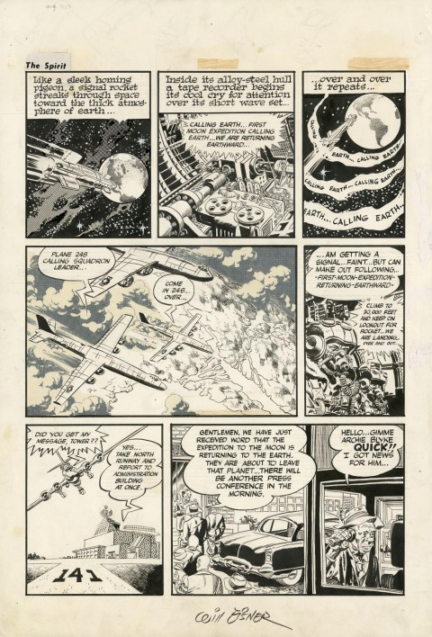 Spirit Section 8-31-1952 by Wally Wood and Will Eisner.  Source.