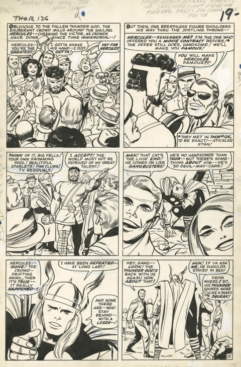 Thor issue 126 page 15 by Jack Kirby and Vince Colletta.  Source.