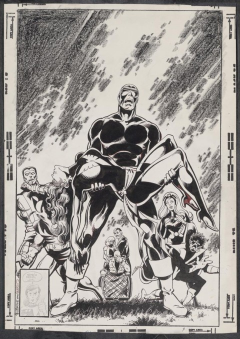 Uncanny X-Men issue 136 cover by John Byrne and Terry Austin