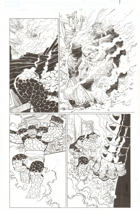 World War Hulk issue 2 page 22 by John Romita Jr and Klaus Janson.  Source.