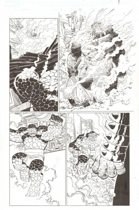 World War Hulk issue 2 page 22 by John Romita Jr and Klaus Janson.  Source.