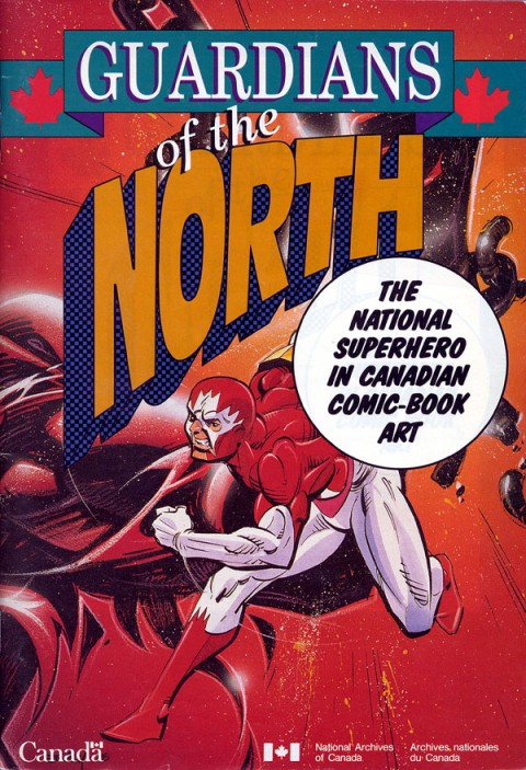 Guardians of the North catalogue that accompanied the travelling 1992 exhibit of material  from the Library and National Archives of Canada authored by John Bell