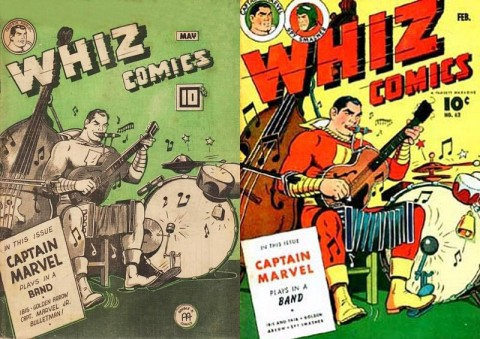 Whiz Comics Vol. 4 No. 5 and Whiz 62
