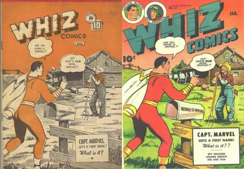 Whiz Comics Vol. 4 No. 6 and Whiz 61