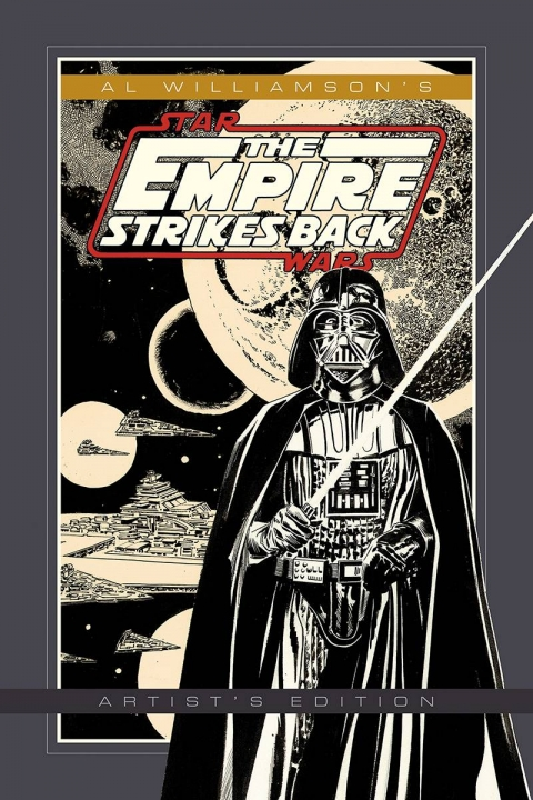 Al Williamson's Star Wars The Empire Strikes Back Artist's Edition cover prelim