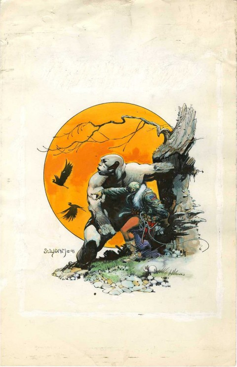 Cholly and Flytrap by Arthur Suydam.  Source.